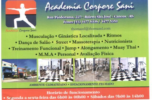 Academia Corpore Sani Canoas