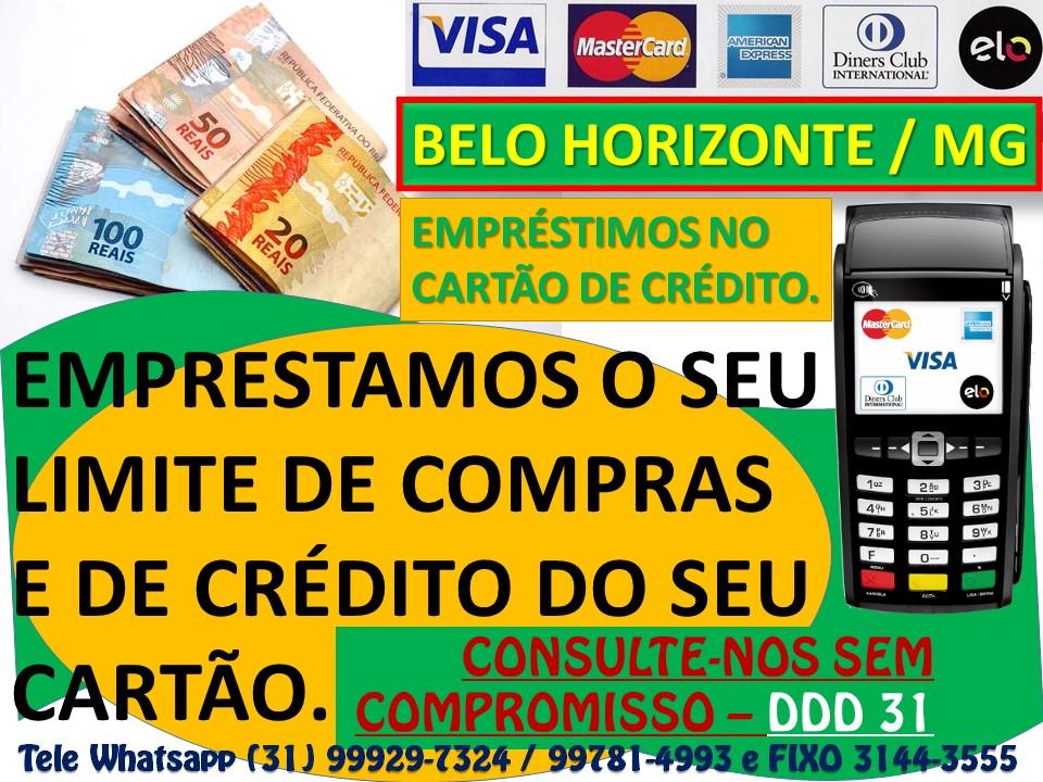 Emprestimo Cartao Credito Dinheiro X Cartao Belo Horizonte-MG Belo Horizonte