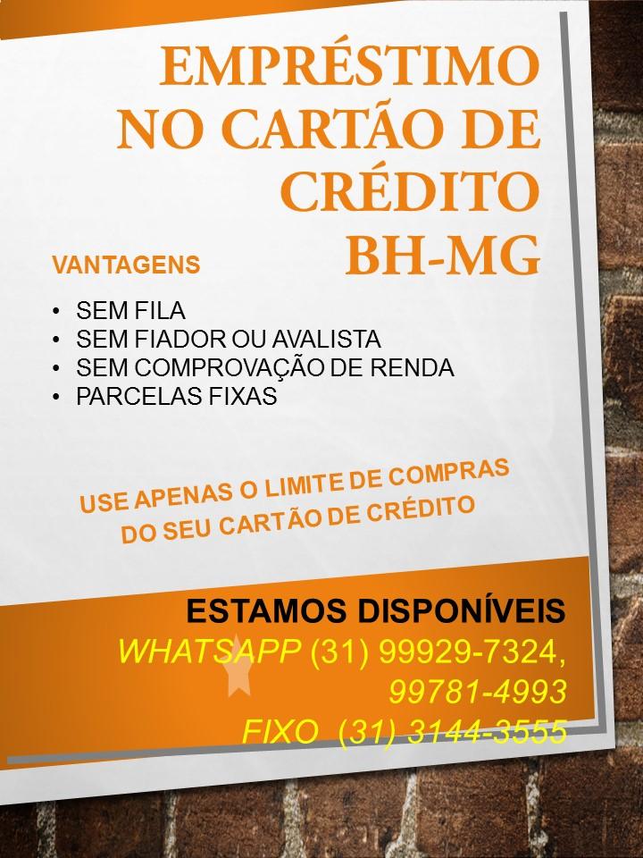 Foto de Emprestimo Cartao Credito Dinheiro X Cartao Belo Horizonte-MG